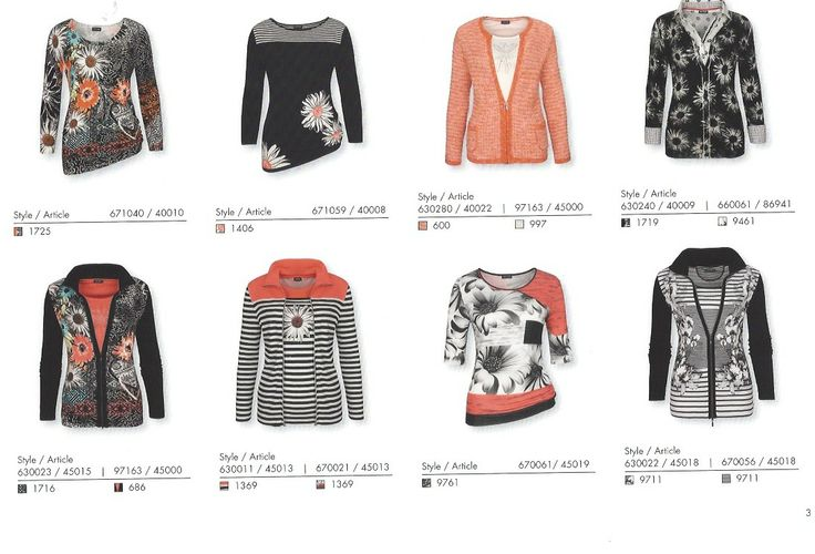 We are all about style and making it easy for you so all our collections are pre-matched for you to wear as an outfit or pair with other pieces in your wardrobe.  This collection is called VENEZIA and has great T-shirts, jackets, sweater sets and just about anything to suit everyone's needs....