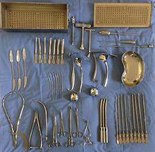 Medizinische Instrumente, chirurgische Instrumente, OP-Besteck, Gynäkologie, Zan