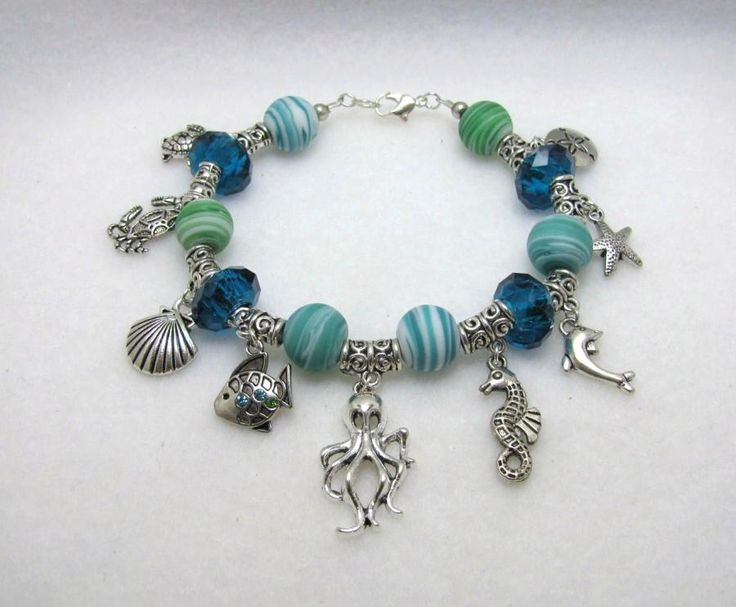 LOVE OF THE SEA - Jewelry creation by Linda Foust