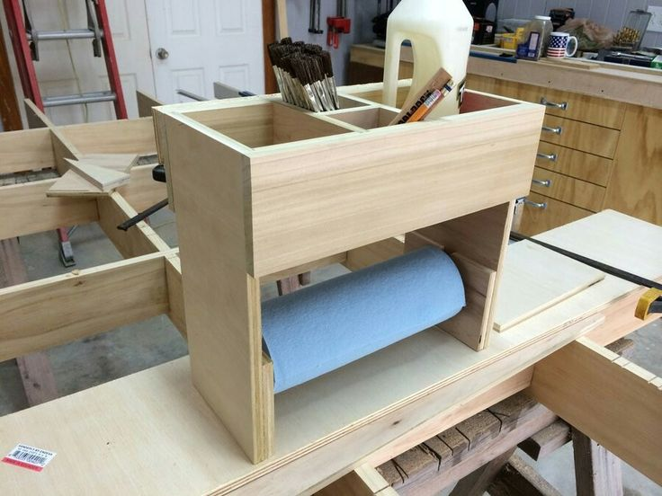 This Plan Came From Wood Magazines Idea Shop It Is Made Plywood For The Sides And Dividers Bottom Hardwood