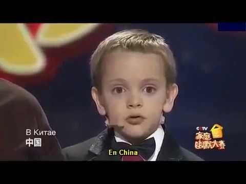 El niño que sorprendió a mil millones de chinos con su talento.