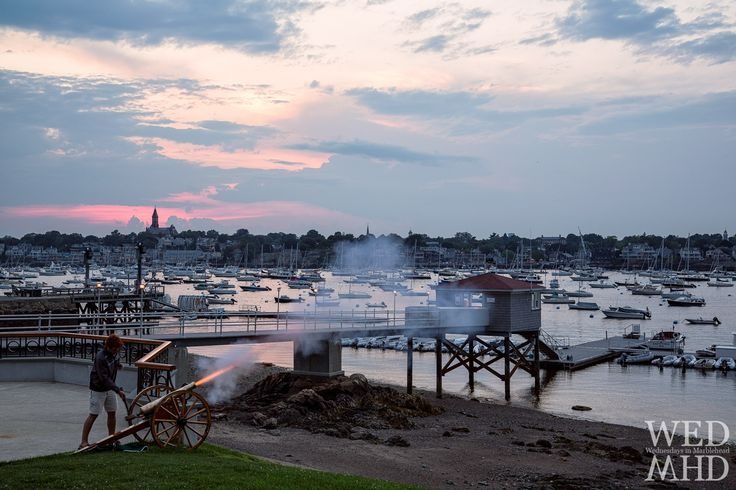 Firing the Sunset Cannon - Marblehead