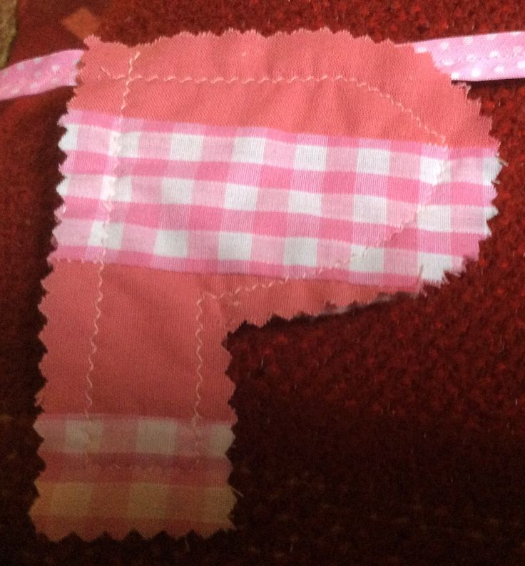 Letter number three for my bunting!
