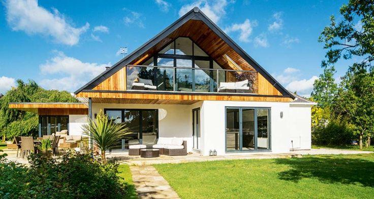 arquitectura y diseño de casas con extensiones