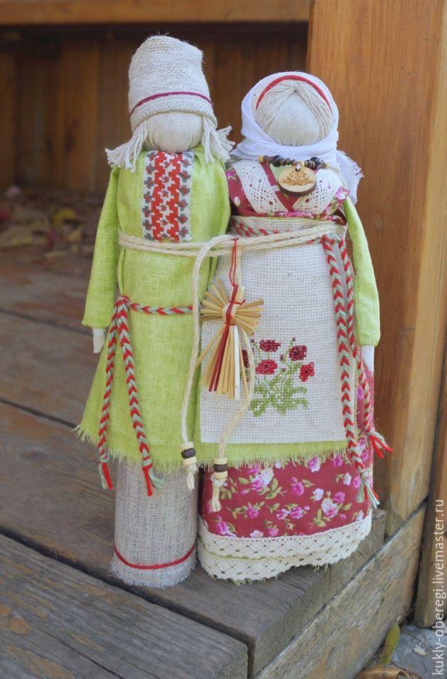 """Купить """"Неразлучники"""" традиционные куклы - комбинированный, неразлучники, свадьба 2016, свадебный подарок, юбилей свадьбы"""