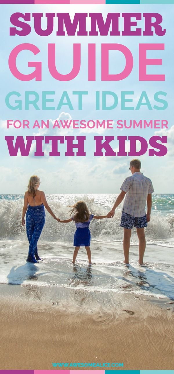 Tips when taking your baby or toddler to the beach, +150 summer activities for kids, summer boredom busters on a budget, the secret to the perfect hike with