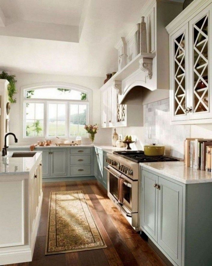 30 creative farmhouse kitchen design ideas farmhouse kitchens rh pinterest com
