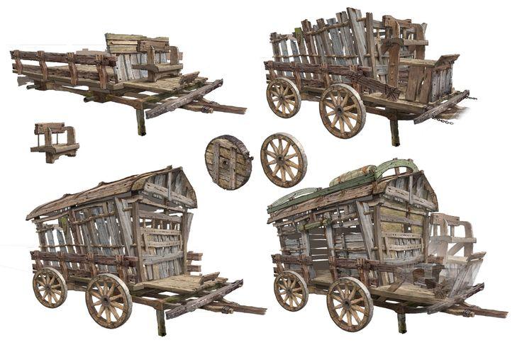 ArtStation - old wagon, HyunHo Park