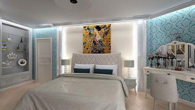 Sergey Batarchuk: Дизайн интерьера спальни BY NANADESIGN г. Сургут
