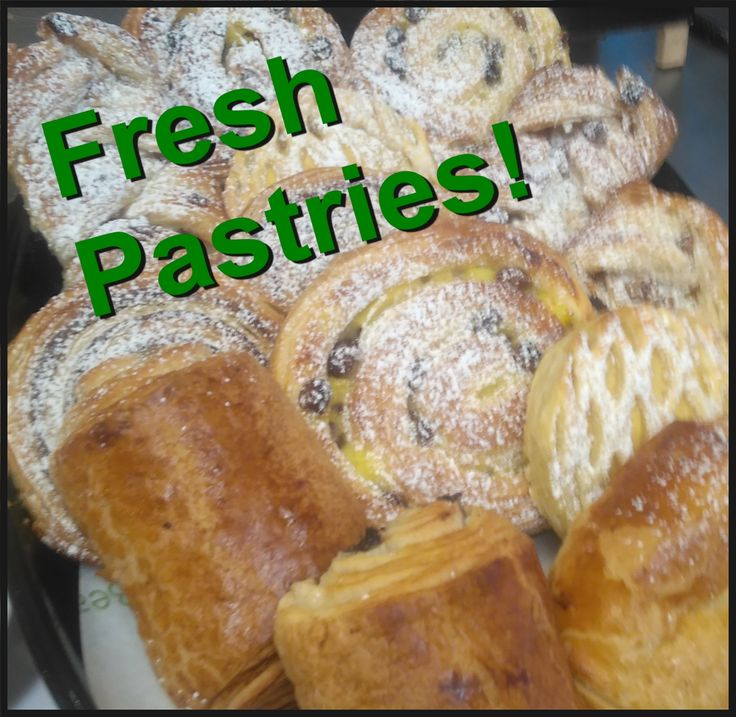 Treat yourself to a freshly baked danish with your coffee :)  #dungarvan #shoplocal