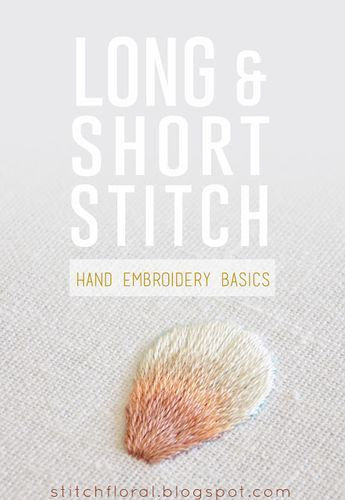 Long and short stitch lesson #long_and_short_stitch, #how_to_long_and_short_stitch, #long_and_short_stitch_lesson, #long_and_short_stitch_tutorial