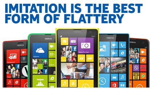 Nokia Wins The Best Reaction To The New iPhone Announcement.. ouch (;