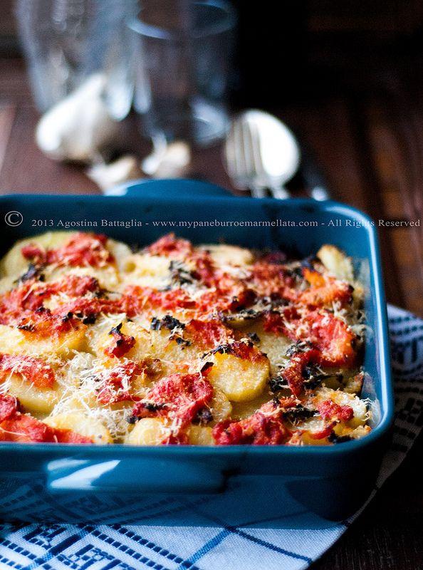 gratin di patate alla provenzale