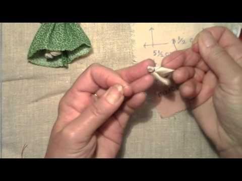 Маленькая кукла мотанка сделать своими руками - YouTube