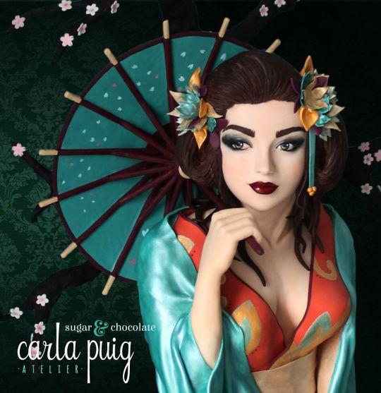 Occidental Geisha - CI Best in Show Preciosa tarta de cakesdecor