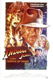 Indiana Jones and the Temple of Doom (1984) Indian Jones is asked by a desperate village to find a mystical stone.  Harrison Ford, Kate Capshaw, Johathan Ke Quan