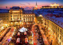 Fedezd fel Pozsony történelmi épületeit, ízeit és adventi hangulatát, valamint Savoyai Jenő herceg kastélyát!