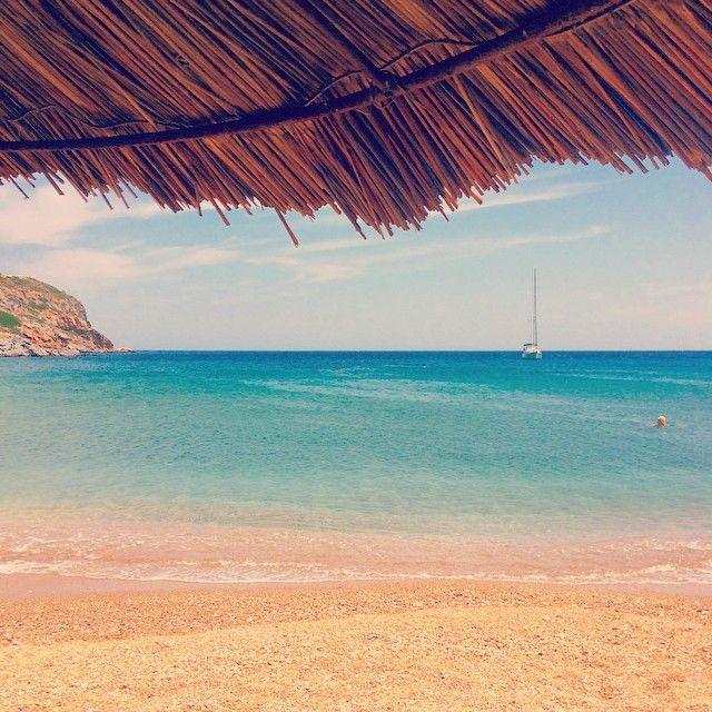 Spathi Beach, Tzia - Greece.