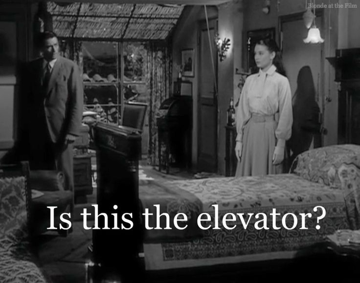 "Audrey Hepburn in Roman Holiday 1953 - ""Is this the elevator?"""
