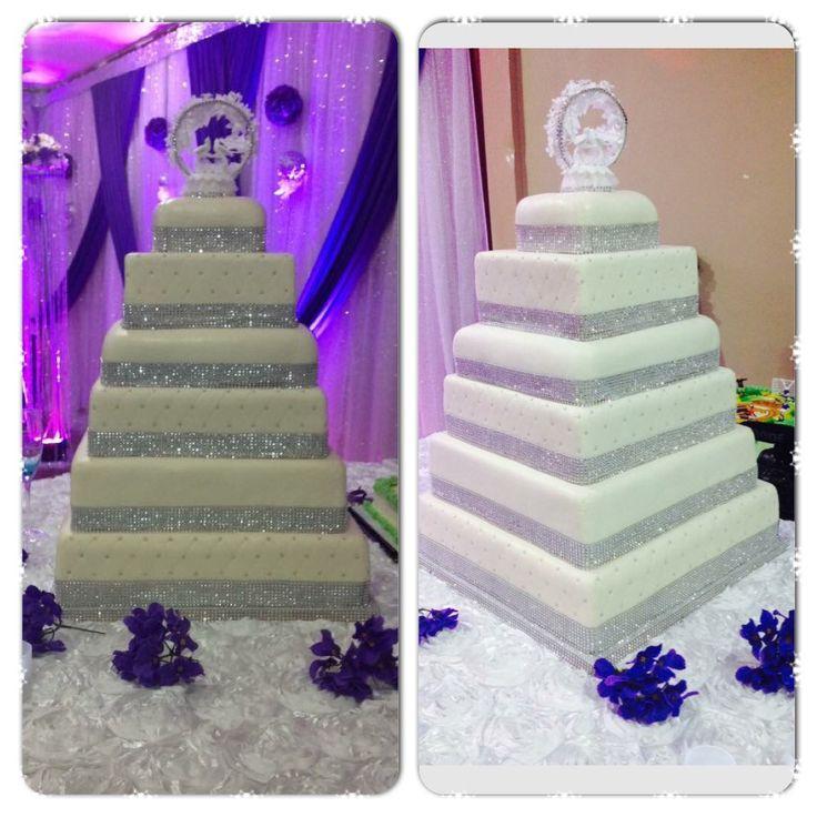 Wedding cake! Created by Splurge....follow us on Facebook!