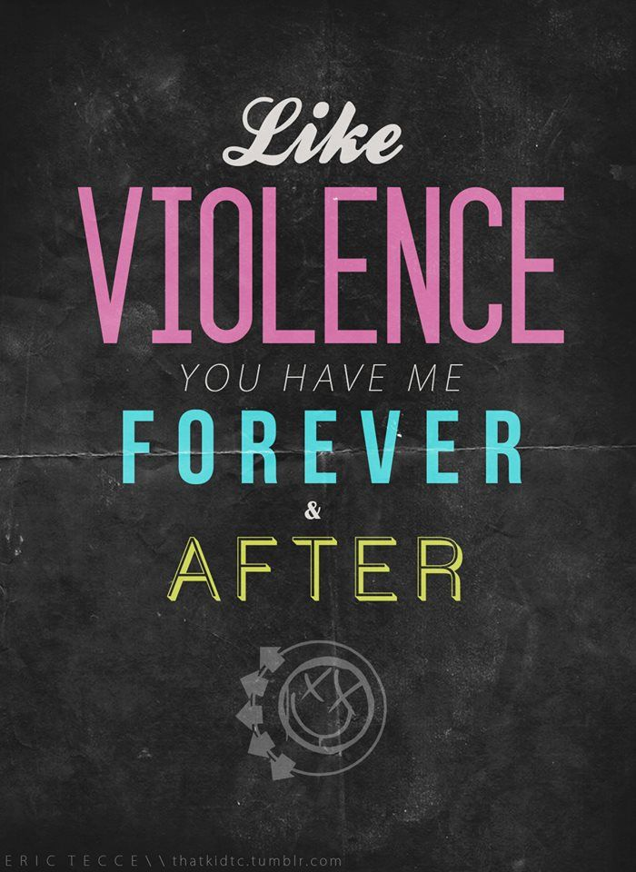 blink-182 - violence.