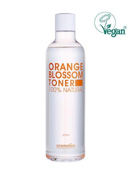 Orange Blossom Toner. Mild toner er spesielt formulert med økologisk orange olje og økologisk aloe vera ekstrakt som bidrar til å tone huden din og balansere pH nivåer i huden. Aloe vera ekstrakt fukter grov hud og lindrer rød hud mens økologisk eucalyptus olje og Usnea barbata ekstrakt bidrar til å fjerne døde hudceller og klargjøre huden myk og fuktig. Litt sur toner er flott for alle hudtyper, spesielt for sensitiv hud. Det hjelper å balansere hudens tilstand og holde den sunt.