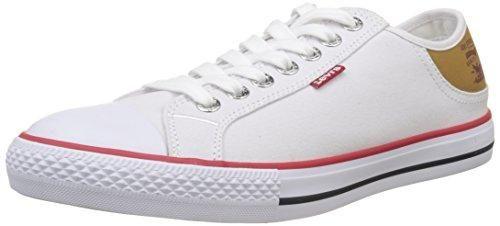 Oferta: 35€. Comprar Ofertas de LEVIS FOOTWEAR AND ACCESSORIES Stan Buck, Bajos para Hombre, Blanco (Blanc), 41 EU barato. ¡Mira las ofertas!