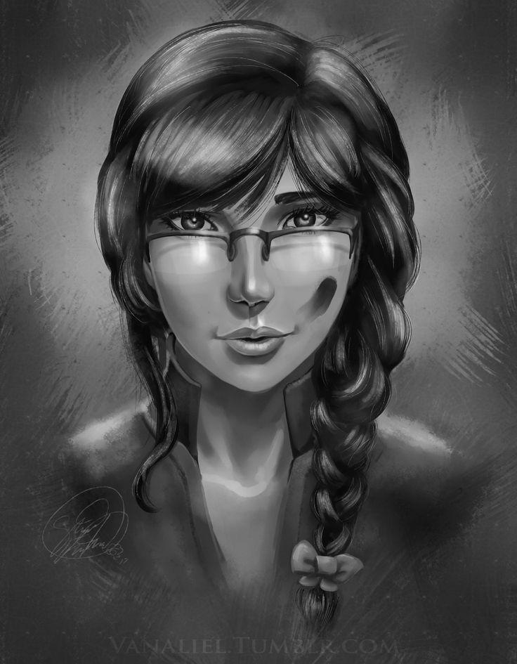Guild Wars 2 Engineer, Moriah Salvage, by Vanaliel on tumblr