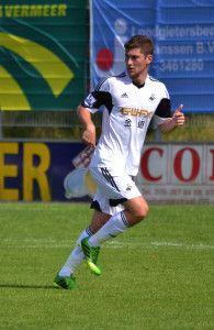 Welsh footballer Ben Davies of the Tottenham Hotspurs