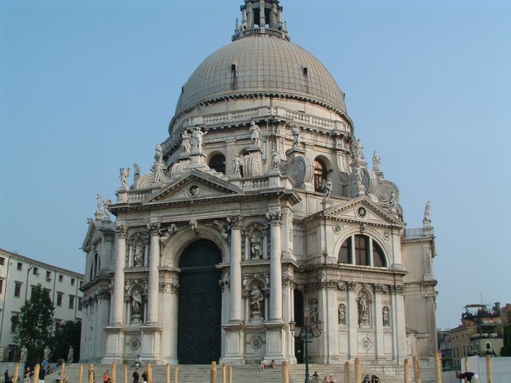 Basílica Santa María de la Salute en Venecia