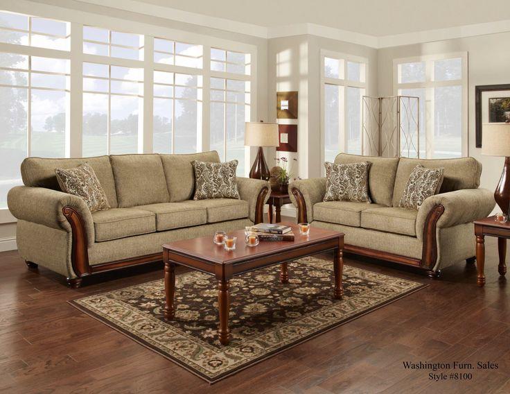 8100 Washington Hindsight Cocoa Sofa And Loveseat Great