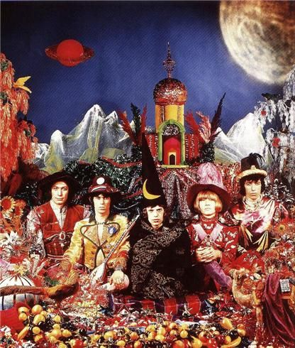 Cover for The Rolling Stones' 1967 album Their Satanic Majesties Request by Michael Cooper, 1967
