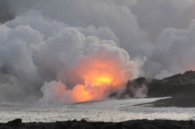 Things To Do For Free On Hawaii's Big Island: Kalapana Lava Viewing Area