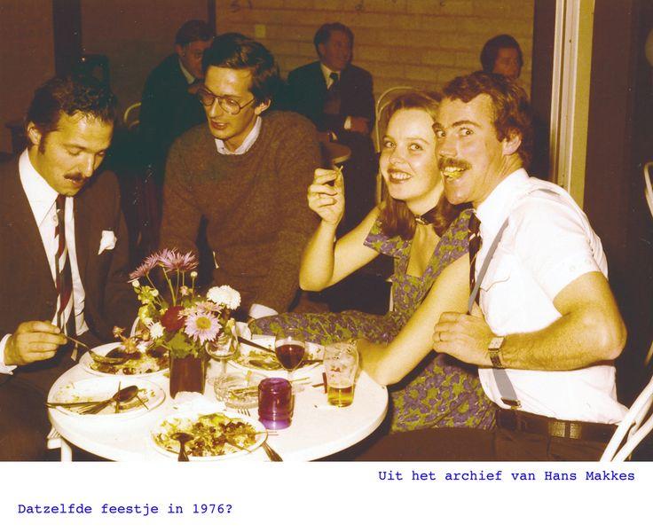 Uit het archief van Hans Makkes Datzelfde feestje in 1976