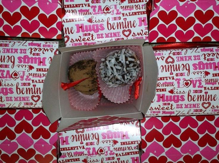 Decoracion trufas dia de san valentin trufas de chocolate - Decoracion de san valentin ...