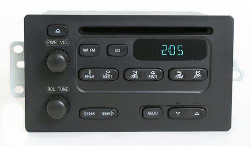 Chevy Express Van 2003-07 GMC Savana Radio AM FM CD Player Part Number 93801884