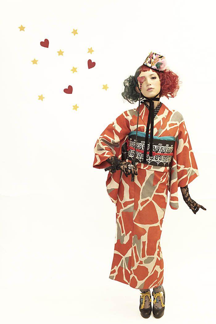 100159:光宗薫 ミディアム ウイッグM おめかし、おでかけ お散歩 シチュエーション アンティーク着物 by Dali photo theater