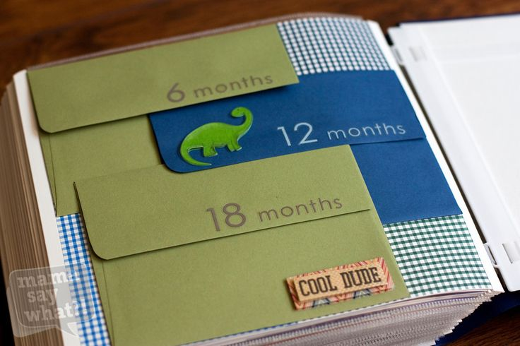 print favorite photos and stash into envelopes within an album. organized, yet super quick and easy