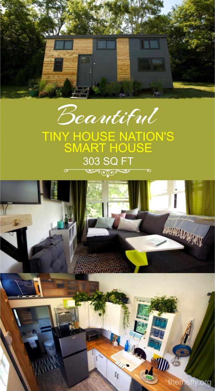 TINY HOUSE NATION'S SMART HOUSE  