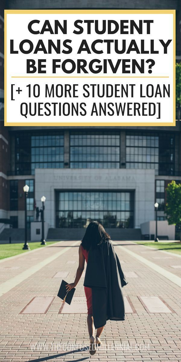 Can Student Loans Actually Be Forgiven? [+ 10 More Student Loan Questions Answered] Can Student Loans Actually Be Forgiven? [+ 10 More Student Loan Questions Answered], paying off student loans tips, getting student loan forgiveness, refinance or repayment or default on student loan,