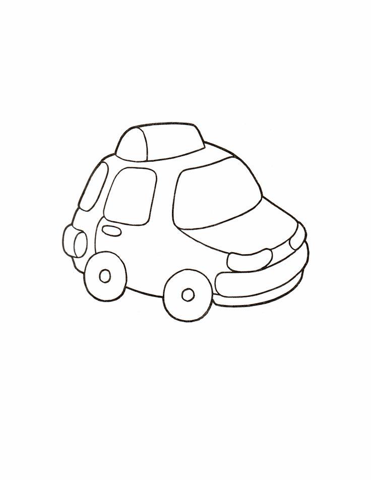 Раскраски для малышей машины 30 | Детские раскраски ...