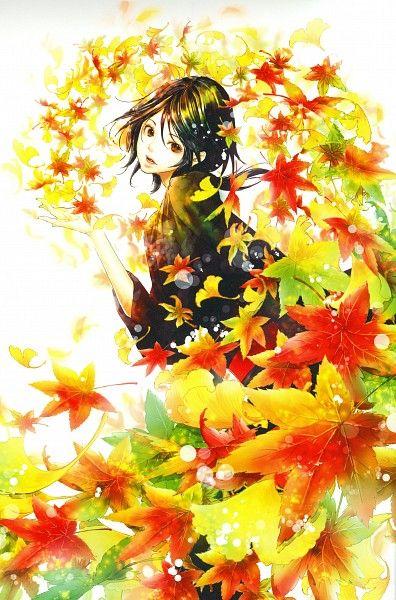 Tukiji Nao, Adekan, Yoshiwara Shiro, Watermark, Autumn, Low Ponytail