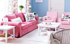 Love the pink!  Living Room Furniture - Sofas, Coffee Tables & Inspiration - IKEA