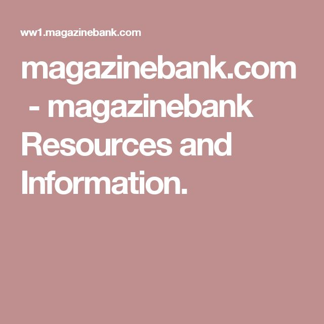 magazinebank.com-magazinebank Resources and Information.