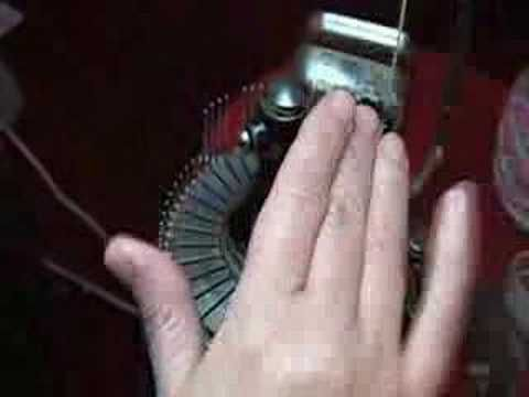 ▶ Ribbed Sock on Circular Knitting Machine (Part 2 of 3) - YouTube