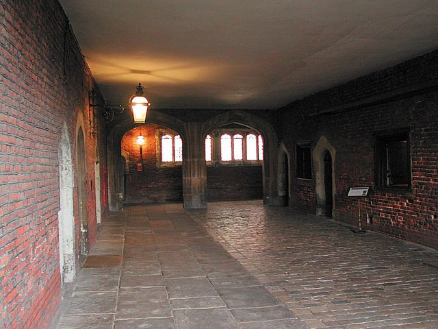 Hampton Court Palace: Tudor Kitchens In this area are the Tudor kitchens,pantries & cellars of the Great Tudor King Henry VIII  by marc_vie, via Flickr