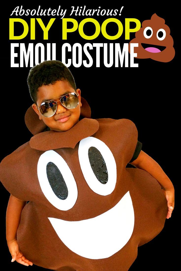 9d8a31cbfe2 TWO No Sew DIY Emoji Costumes for Under $25! #JPHalloween   Kids ...