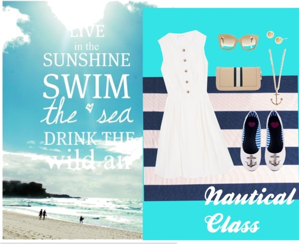"""The Classy Beach"" by mickey-sugar on Polyvore: Wardrobes Necessities, Classy Beaches"