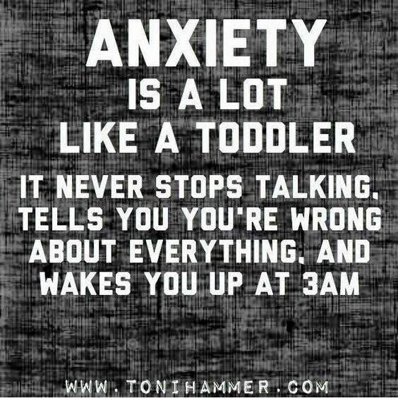 Anxiety sucks!!