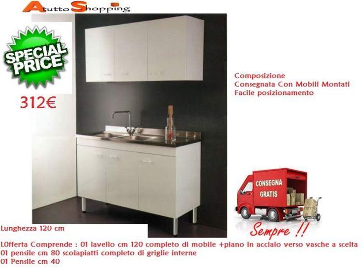 17 best images about mobili cucina in offerta e consegna - Cucine usate trieste ...